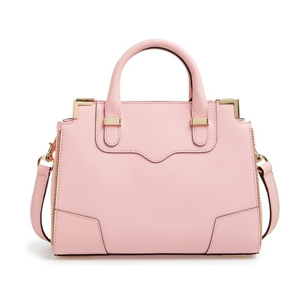 REBECCA MINKOFF Small amorous satchel - Polished zip teeth amp up the attitude of a...