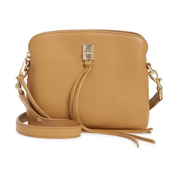 Rebecca Minkoff small darren leather shoulder bag in brown