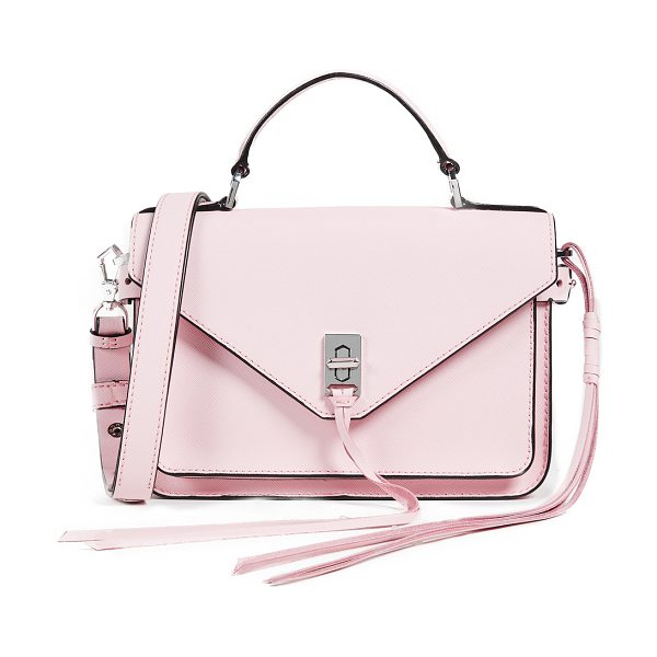 REBECCA MINKOFF small darren messenger bag - Exclusive to Shopbop Leather: Cowhide Saffiano finish...