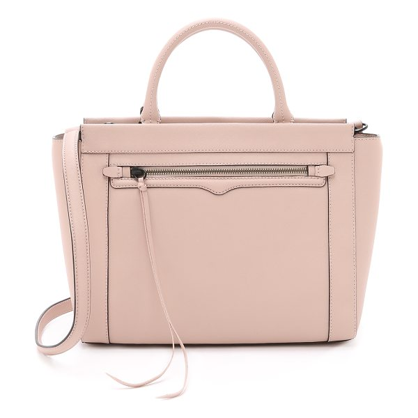 Rebecca Minkoff Small monroe tote in latte - A scaled down Rebecca Minkoff tote with a structured...