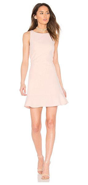 Rebecca Minkoff Tiffani Dress in pink - Self & Lining: 88% poly 12% elastane. Dry clean only....