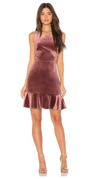Rebecca Minkoff Tiffany Dress in mauve - Self: 94% poly 6% elastaneLining: 100% poly. Dry clean...