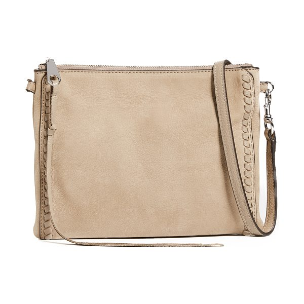 Rebecca Minkoff vanity jon cross body bag in sandstone
