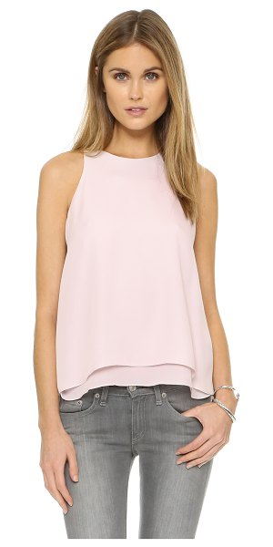 REBECCA TAYLOR Aerin top - Delicate silk composes this sleeveless Rebecca Taylor...