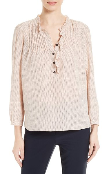 Rebecca Taylor silk blouse in ballet