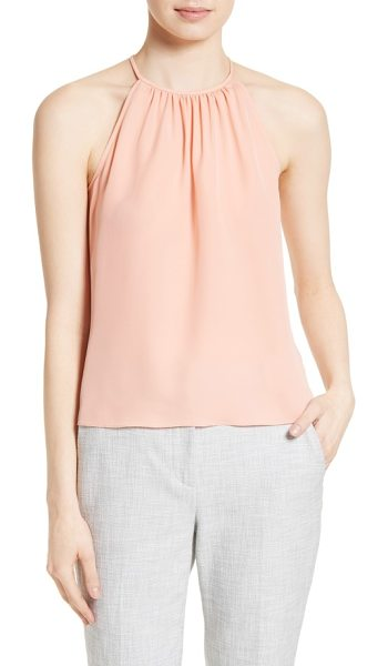 Rebecca Taylor silk tank in peach soda - Celebrate the return of long sunny days in a...