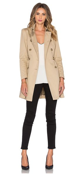 Red Valentino Belted trench in tan - Shell: 100% cotton Lining: 100% poly. Dry clean only....