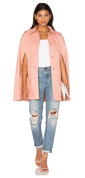 Red Valentino Cape in blush - Self: 72% poly 26% viscose 2% elastanLining: 67% acetate...