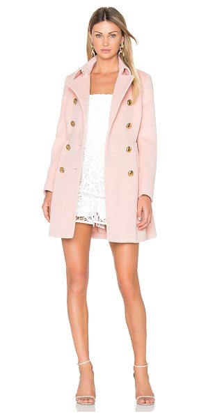 RED VALENTINO Double Breasted Coat in blush - Shell: 46% alpaca 34% wool 20% polyamideLining: 67%...