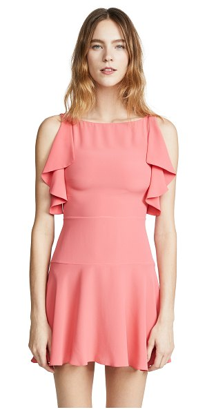 Red Valentino pink mini dress in fresh pink