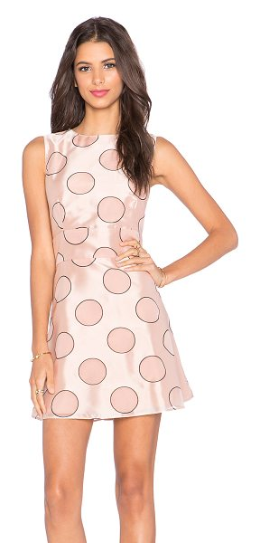 Red Valentino Polka dot party dress in blush - Self: 49% viscose 34% polyamide 17% polyLining: 100%...