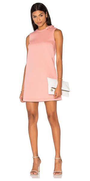 Red Valentino Shift Dress in pink - Self: 100% cottonLining: 100% polyPadding: 100%...