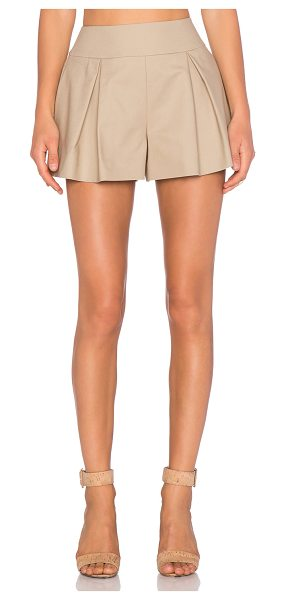 Red Valentino Tailored short in tan - External fabric: 98% cotton 2% elastaneLining: 67%...