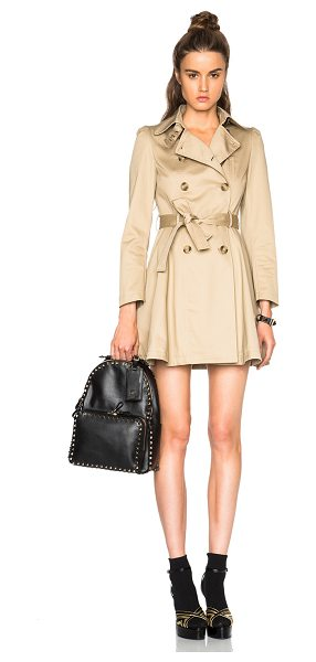 Red Valentino Trench coat in neutrals - Self : 100% cotton - Lining & Contrast Fabric: 100%...
