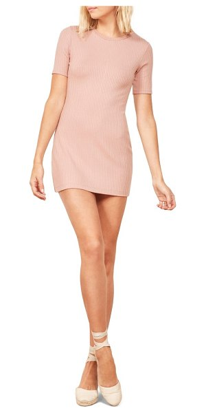 REFORMATION gigi dress in pink