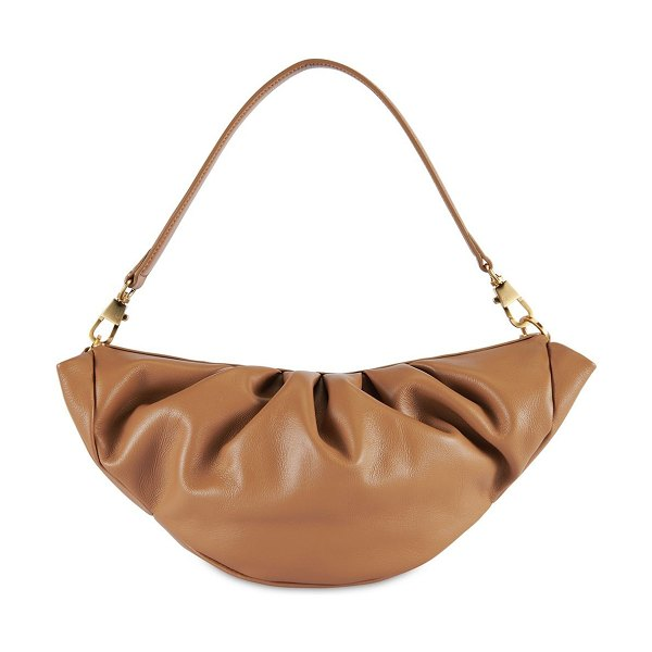Reike Nen Croissant leather  bag in beige