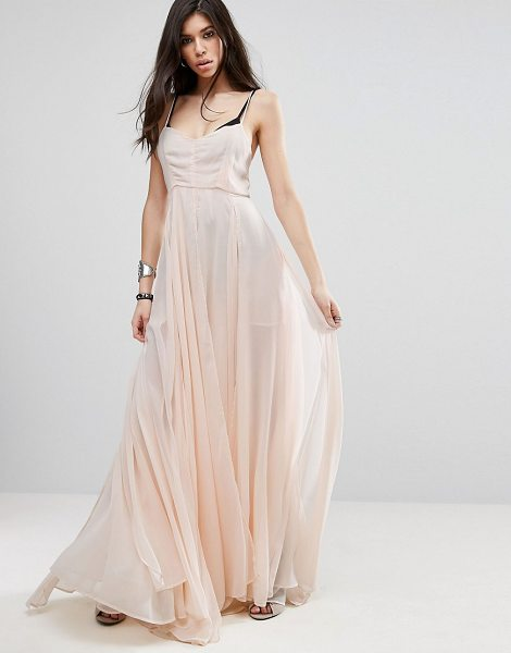 "Religion Olsen Maxi Dress in pink - """"Maxi dress by Religion, Midweight woven fabric, Cami..."