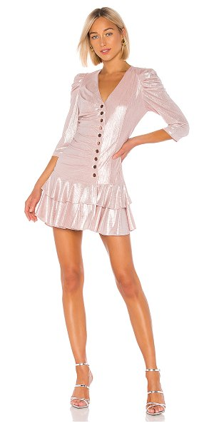 retrofete cassidy dress in pink