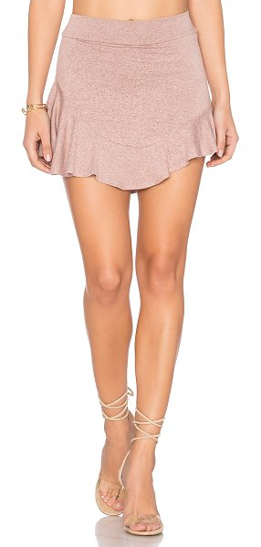 "Riller & Fount Buzzy Skort in pink - ""74% rayon 21% poly 5% spandex. Dry clean only. Fully..."