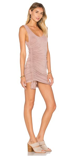 Riller & Fount Koby Dress in mauve - 74% rayon 21% poly 5% spandex. Dry clean only. Unlined....