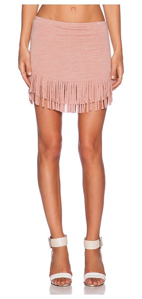 Riller & Fount Wyatt skort in pink - 74% rayon 21% poly 5% spandex. Dry clean only. Skort...