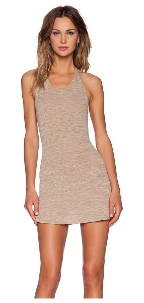 Riller & Fount X revolve reiley dress in tan - 74% rayon 21% poly 5% spandex. Dry clean only. Attached...