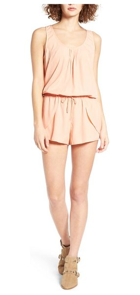 Rip Curl classic surf romper in coral - Whether you're heading to brunch or the beach, this...