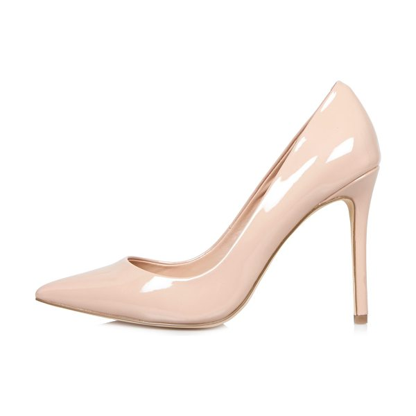 River Island light pink patent court heels in pink - Patent upper Pointed toe Pumps Heel height 10.5cm
