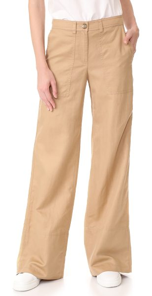 ROBERT RODRIGUEZ wide leg pants - Wide-leg Robert Rodriguez pants with utilitarian style....