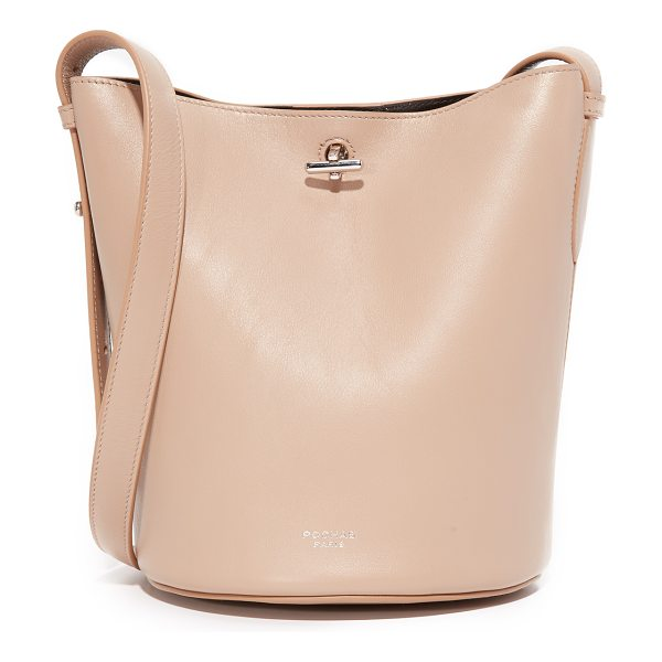 Rochas bucket bag in light beige