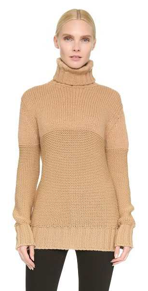 ROCHAS Turtleneck sweater - A loose fitting Rochas turtleneck sweater in a plush...