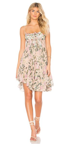 3ad084a8aba44 ROCOCO SAND x REVOLVE Flora Mini Dress in pink - Self   Lining  100%