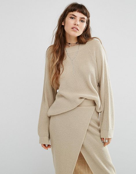 ROKOKO Knitted Sweater Co-Ord - Sweater by Rokoko, Soft-touch knit, Round neckline,...