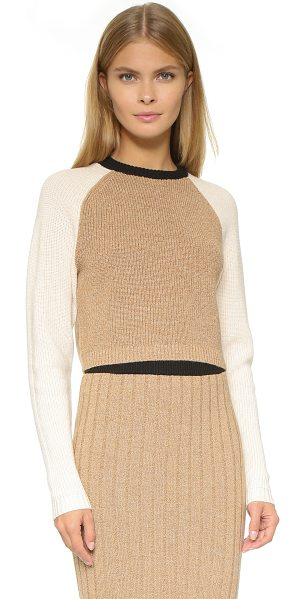 RONNY KOBO Antonina crop sweater - A Ronny Kobo sweater in a cropped profile. Crew neck and...