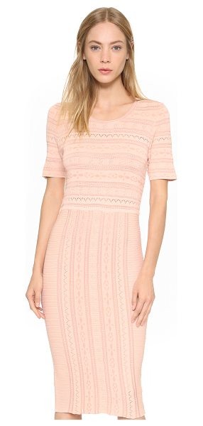 Ronny Kobo Christina dress in nude - A lightly textured knit Ronny Kobo dress with an...