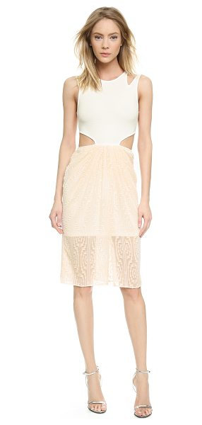 RONNY KOBO Janine burnout dress - A texture rich Ronny Kobo dress is styled with slashed...