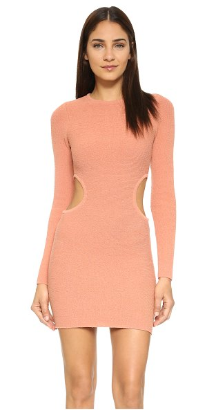 RONNY KOBO Noa sweater dress - A formfitting Ronny Kobo dress with plush texture,...