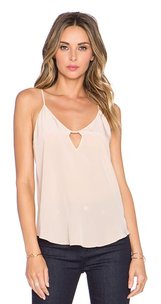 Rory Beca Eisley tank in peach - 100% silk. Dry clean only. Adjustable shoulder straps....