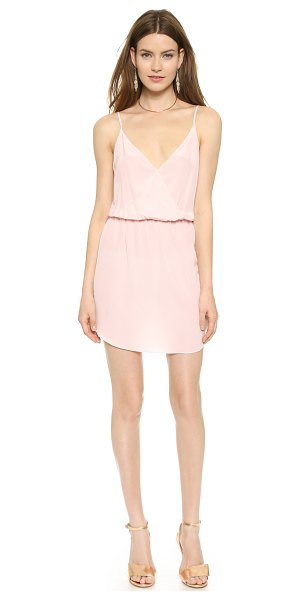 Rory Beca Eli dress in cameo pink - A delicate Rory Beca dress in soft silk. Surplice...