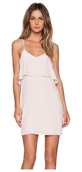 Rory Beca Fina Dress in pink - Silk blend. Dry clean only. Fully lined. Draped bodice...