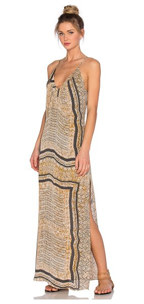 Rory Beca Jeera dress in beige - Self: 60% viscose 40% silkLining: 100% rayon. Dry clean...