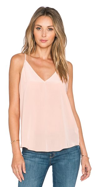Rory Beca Lamu tank in peach - 100% silk. Dry clean only. Adjustable shoulder straps....