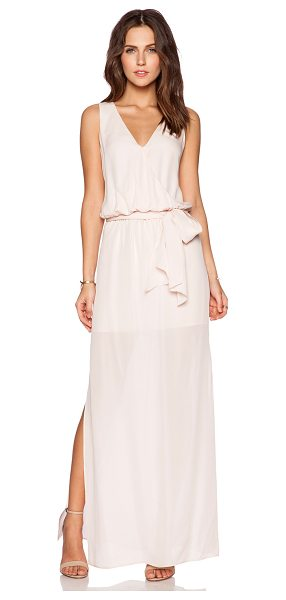 RORY BECA MAID by Yifat Oren Lucy Gown - Silk blend. Dry clean only. Partially lined. Waist tie....