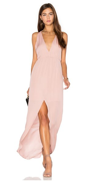 Rory Beca MAID Hampton Gown in blush - Self: 100% silkLining: 100% rayon. Dry clean only....