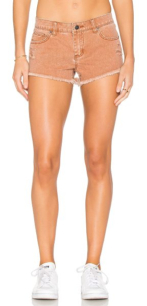 """RVCA Hellow Mellow Short in ginger - """"100% cotton. Front and back pockets. Intentionally..."""