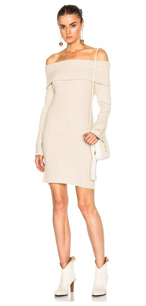 RYAN ROCHE Cashmere Tunic in oatmeal - 100% cashmere. Made in Nepal. Dry clean only. Unlined....