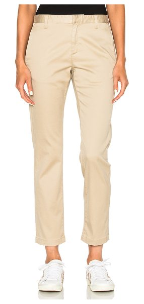 Saint Laurent Classic Chinos in neutrals - 97% cotton 3% elastan.  Made in Italy.  Dry clean only. ...