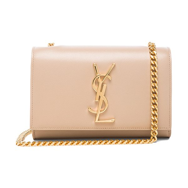 Saint Laurent Small monogram chain bag in neutrals