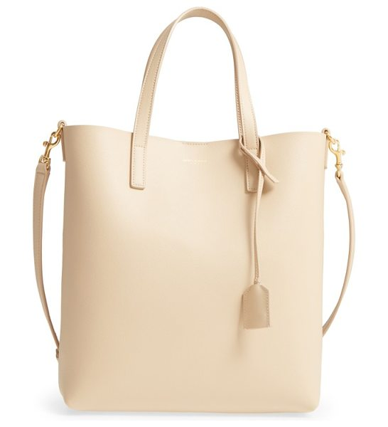 Saint Laurent toy shopping leather tote in pink