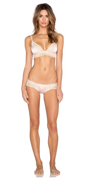 Salt & Sauce Intimates Florence bra & panty set in pink